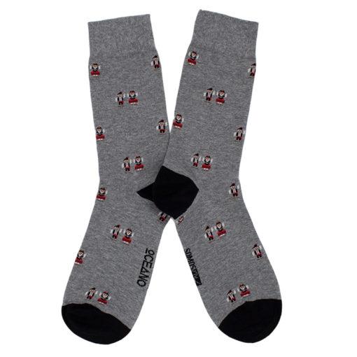 Calcetines Galegos gris SomosOcéano