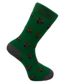 Calcetines Gallos verde