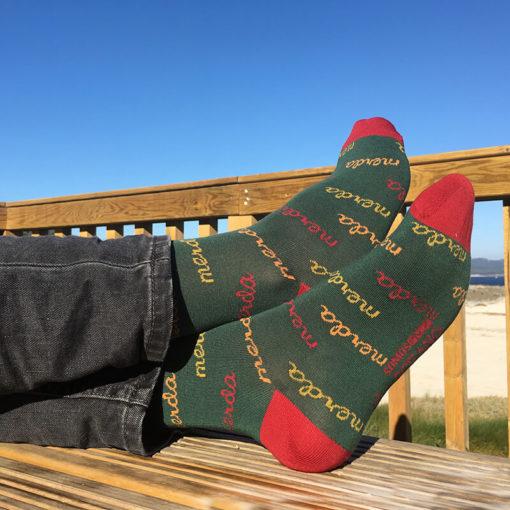 Calcetines Merda verde