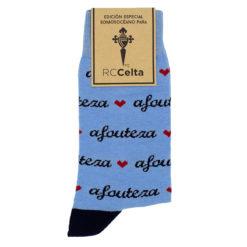 Calcetines Afouteza celeste RC Celta
