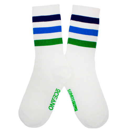 Calcetines deportivos Skate verde