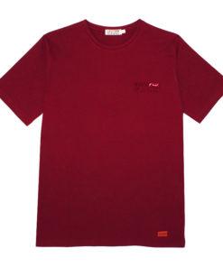 Camiseta Logo burdeos SomosOcéano