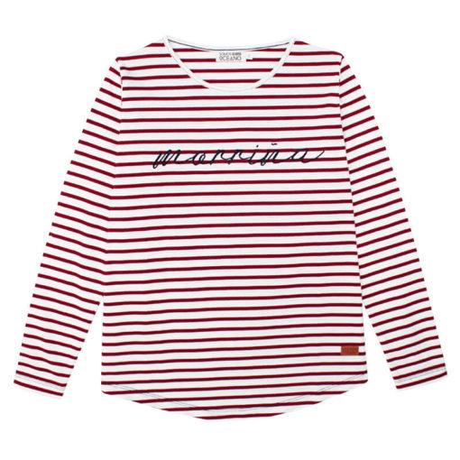Camiseta Morriña rayas SomosOcéano
