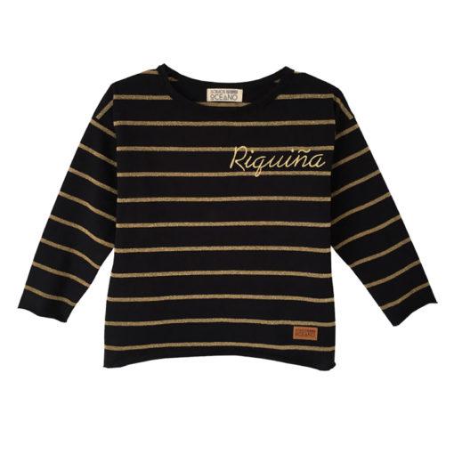 Camiseta Riquiña oro niña