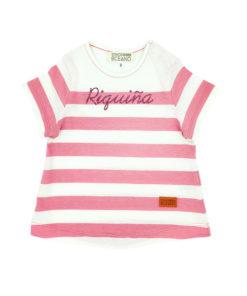 Camiseta Riquiña rosa niña