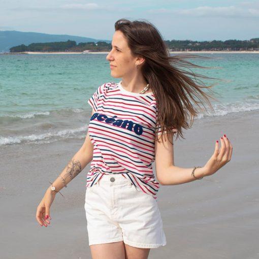 Camiseta Océano mujer SomosOcéano