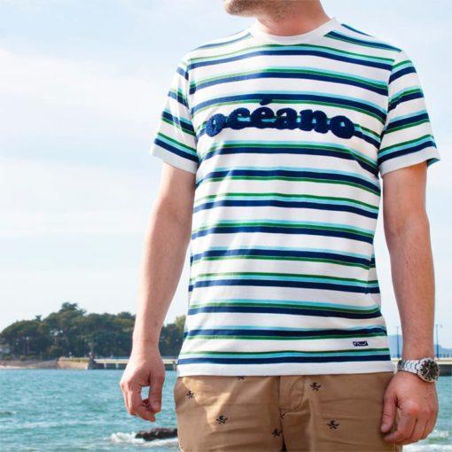 Camiseta Océano hombre