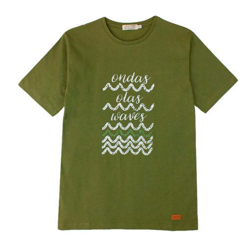 Camiseta Ondas hombre SomosOcéano