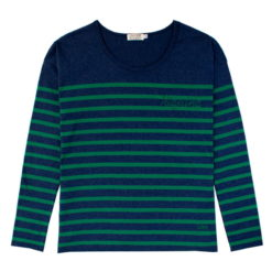 Camiseta Riquiña azul y verde SomosOcéano
