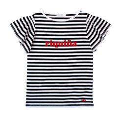 Camiseta Riquiña terciopelo rojo SomosOcéano
