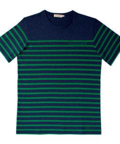 Camiseta Riquiño azul y verde SomosOcéano