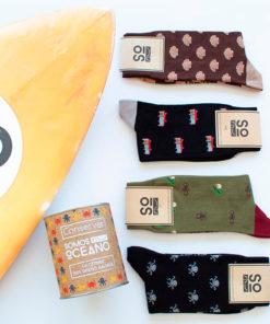 Pack regalo 4 pares de calcetines SomosOceano