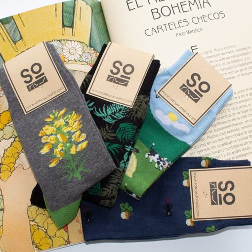 Pack regalo Calcetines Flora SomosOcéano
