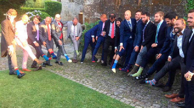 Blog Los novios más originales llevan los calcetines de SomosOcéano
