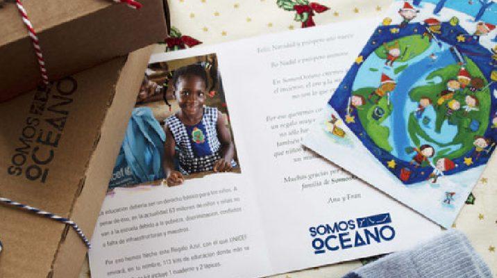 Blog empaquetado de Navidad de SomosOcéano