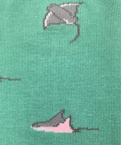 Calcetines Mantas verde menta