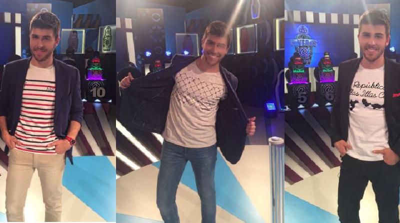 Camisetas de SomosOcéano na TVG