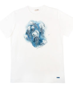 Camiseta Medusas hombre algodón orgánico