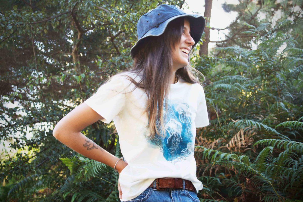 Camiseta Medusas algodón orgánico