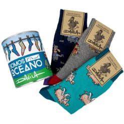 Pack lata calcetíns Luis Davila