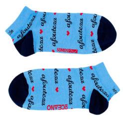Calcetines Tobilleros azules