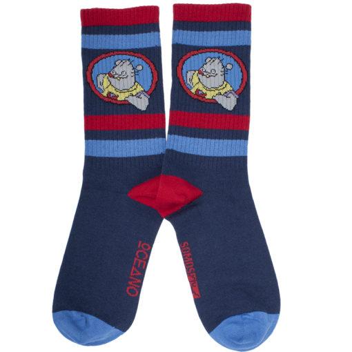 Calcetines deportivos Xabarín Club azul